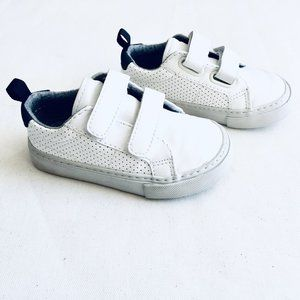 Baby Gap White Perforated Sneakers